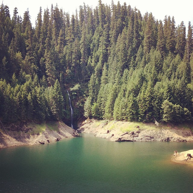 It's on cold Hamilton days like this we wish we were back on the bus, in late July, visiting an Oregon hot spring...