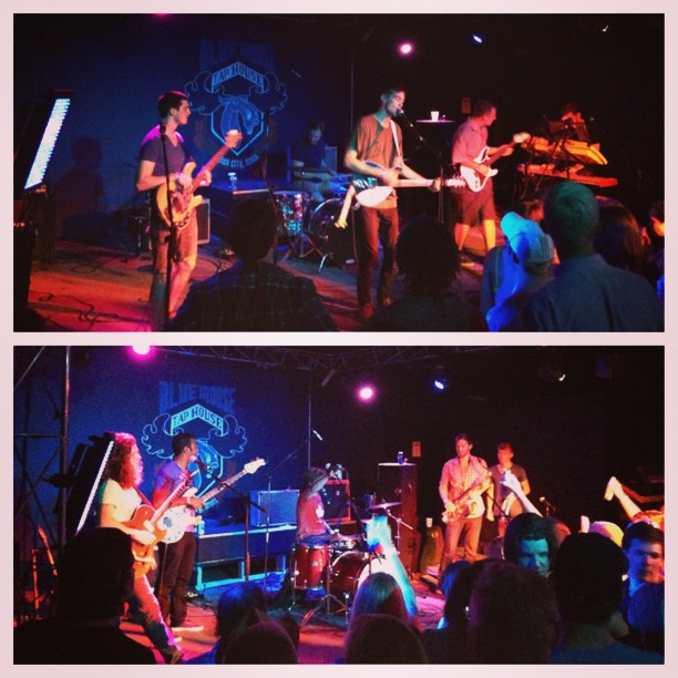 #tbt to our last concert on the Locavaux tour.  Thanks Chasing Shade and The Olympics for an unforgettable night!
