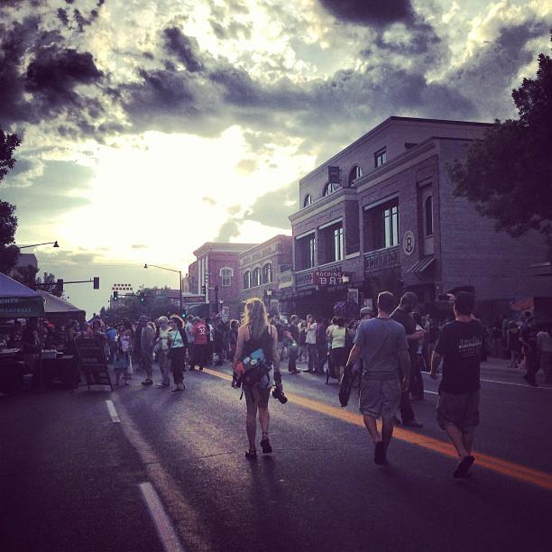 Music on Main yesterday in Bozeman, Montana.