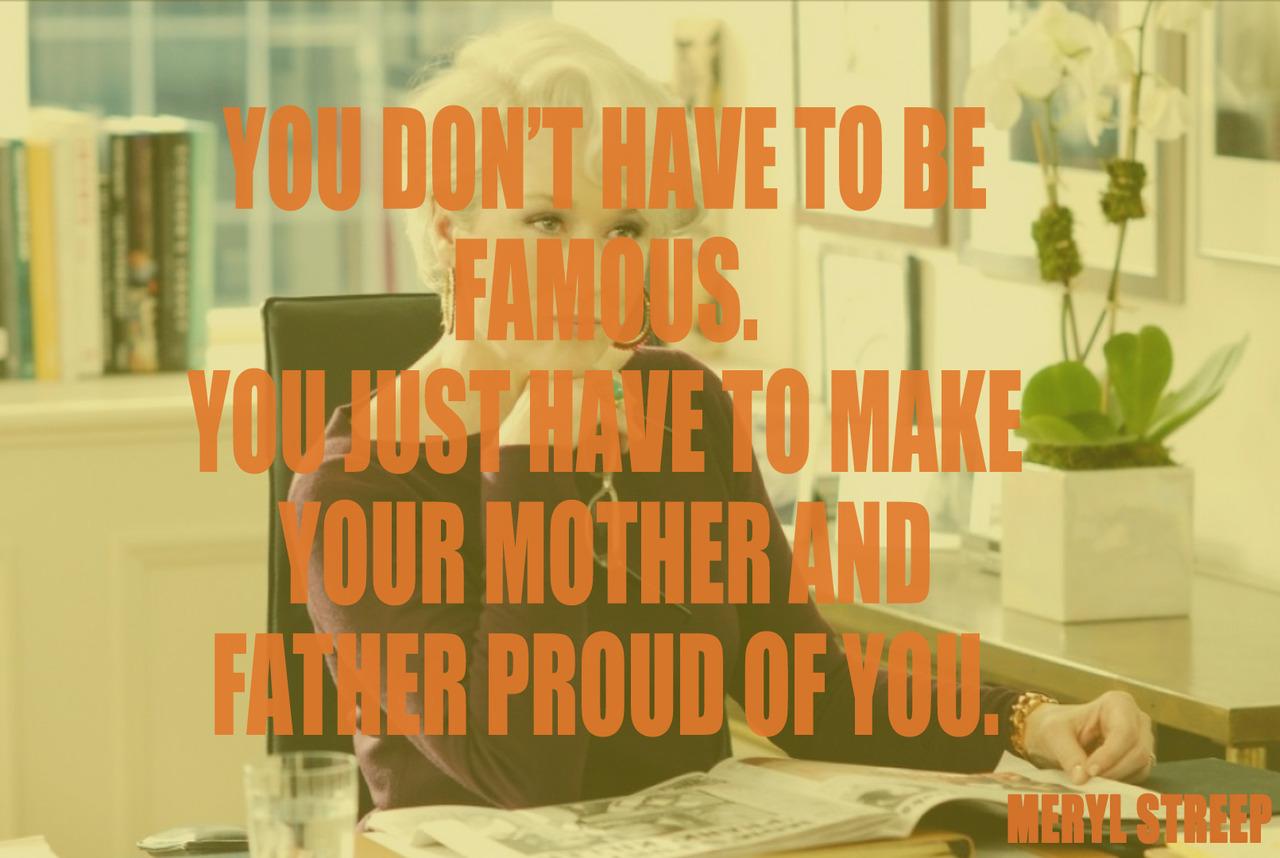 quote by Meryl Streep
