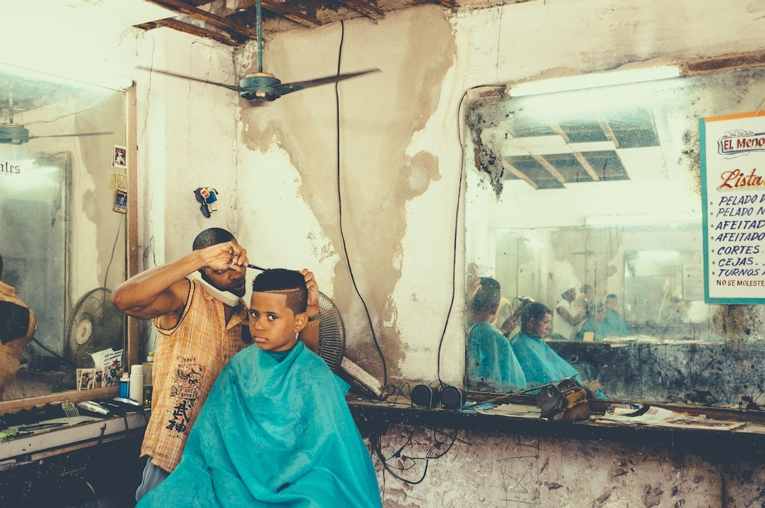 "theyebies: ""The Barbershop"" 