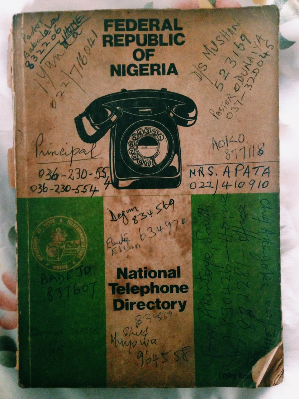 thecreativeafrican: Found this at my Grandparent's house.