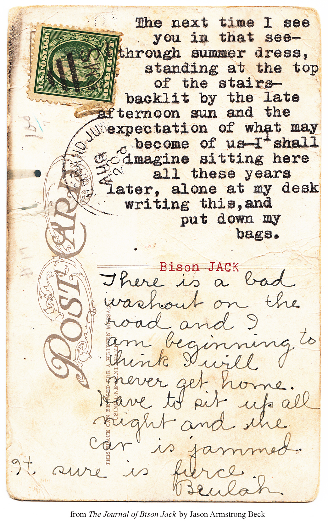 thejournalofbisonjack :     Afterglow / Beulah     Word.