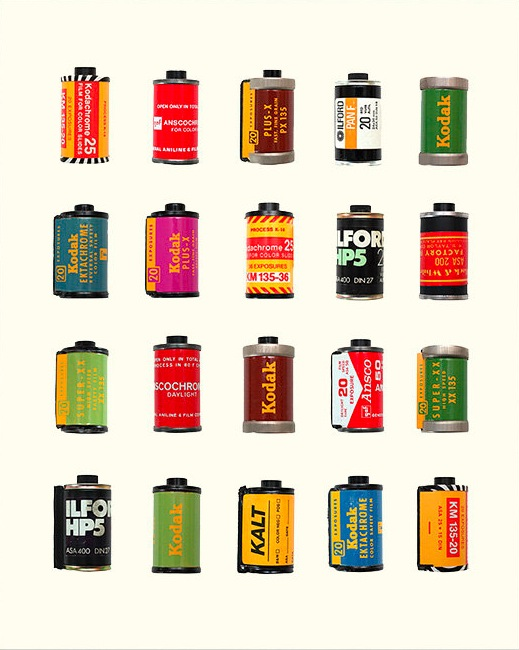 thetypologist: Worth a repeat. Typology of film canisters. Rollin'