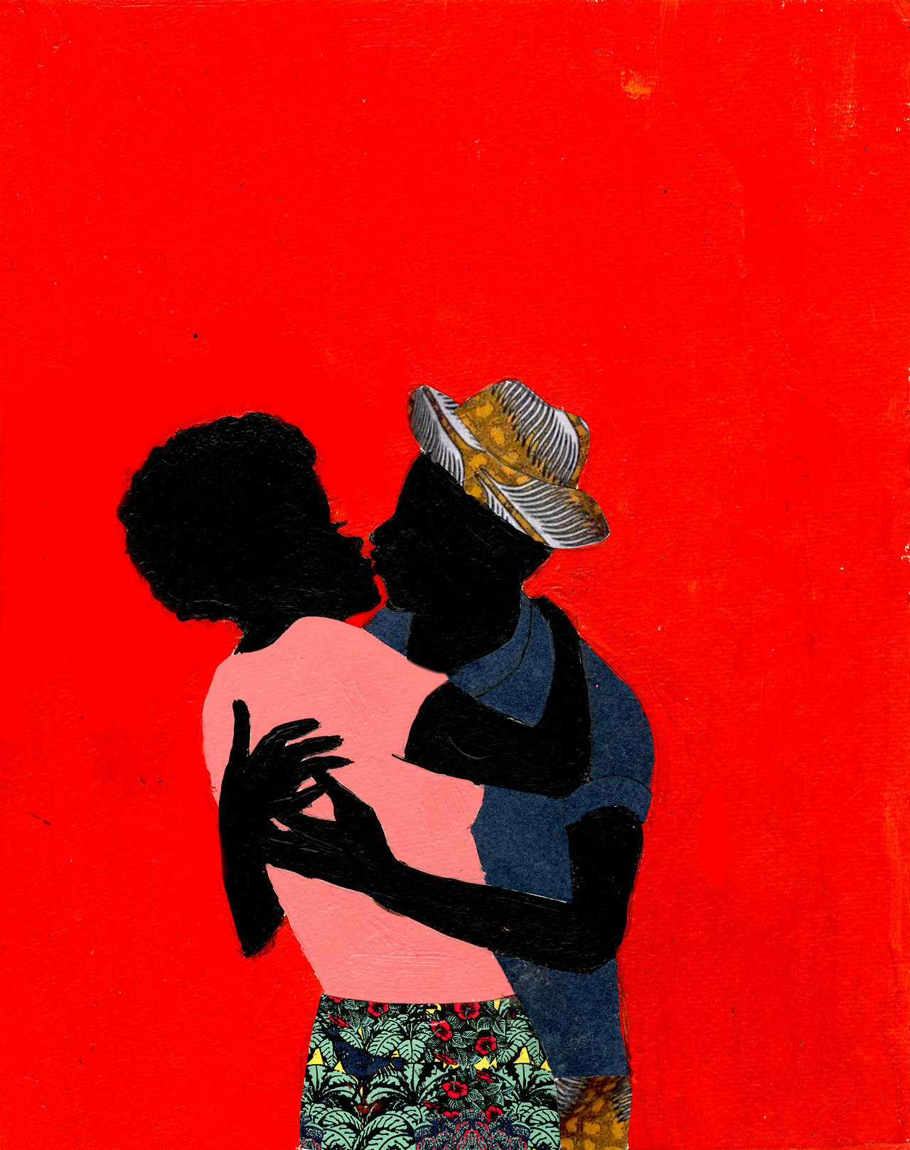 ethiopienne :      stayingunderground :     Original illustration created by   Jamilla Okubo   for the cover of   Love Life Music  , a mix by   Mistah Rapsey  .         follow her tumblr @  vivaillajams        jamilla this is SO unbelievably beautiful