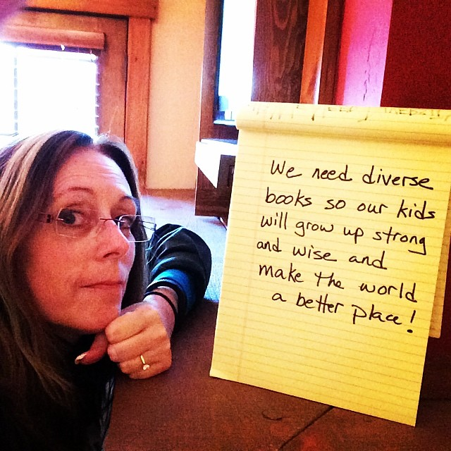 lauriehalseanderson :     Let's make sure that we're writing and illustrating and publishing and buying and borrowing books that represent our amazing diversity of people! #weneeddiversebooks