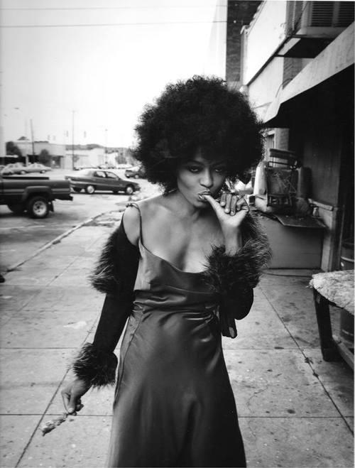 fyahblaze :      reflectionof1 :     ~Diana Ross~     diana look like she was having a snack     Royalty.