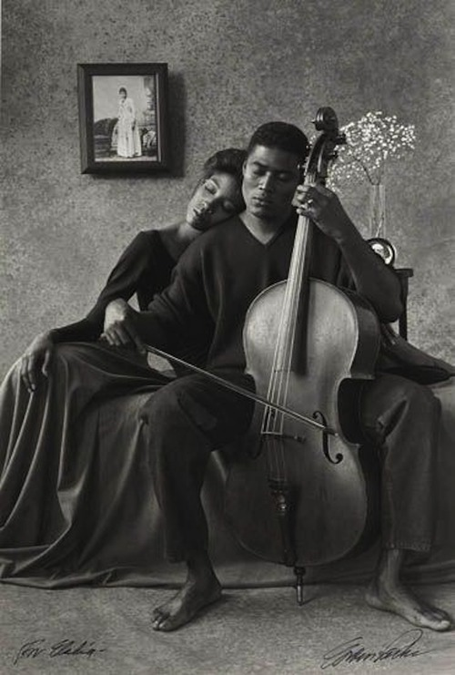 "blackhistoryalbum: ""Music….That Lordly Power"" by Gordon Parks 