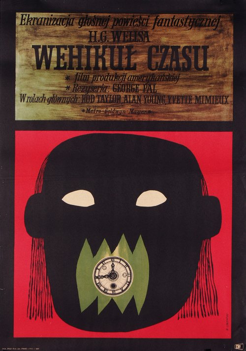 foreignmovieposters :      The Time Machine  (1960). Polish poster by Marian Stachurski.