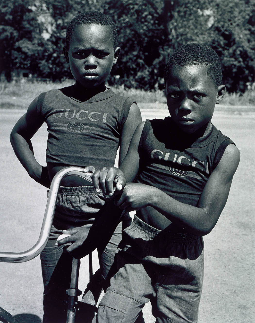 lostinurbanism: Gucci Brother's by Earlie Hudnall Jr. Look at us.