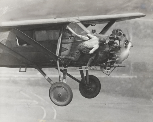 "vagabondbrothers :      ""A Part of a Day's Work for an Endurance Flyer""   