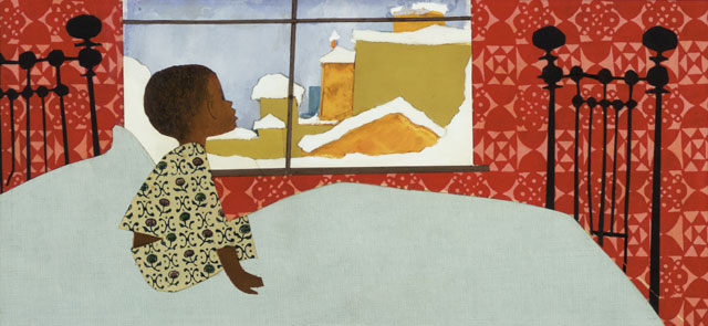 phoebe-bird :     Ezra Jack Keats     Royalty.