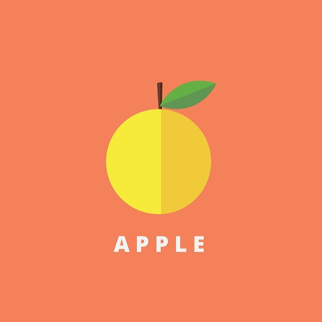 juliencoppola: Just #apple for a small project #adobe #adobeillustrator #vector #flatdesign #webdesign #vectordesign #dribbble #topcreator #behance #flat #bestvector #vectorart #opensans #design #freelancer #graphicdesign #graphics #illustration #fruit #fun #дизайн #графика #вебдизайн by alphatoster http://ift.tt/1e9eH7D