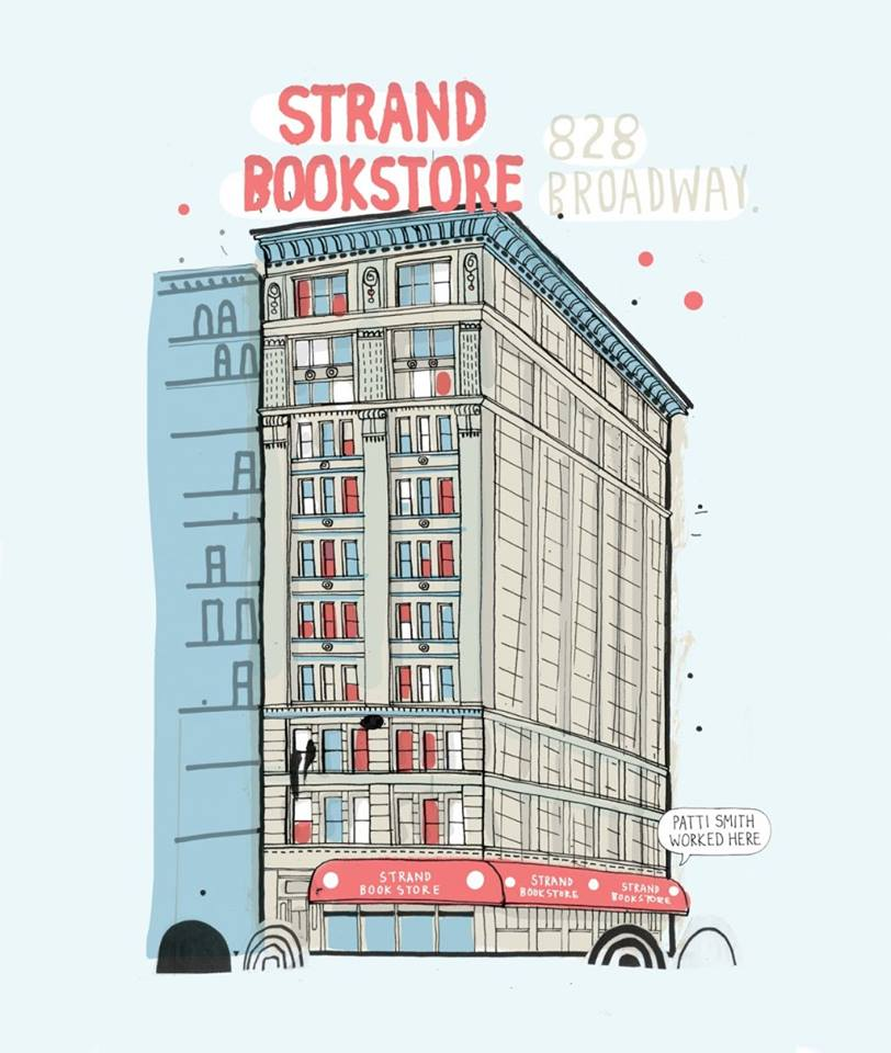 yeahwriters: I love this!!! I love The Strand, it's kinda the Powell's of NYC. And it's my local bookstore! :) Second home. Resting place.