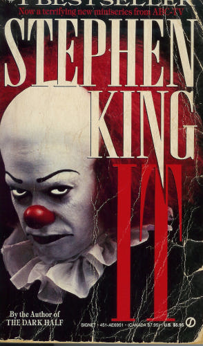 The version of Stephen King's It that I read when I was 11.
