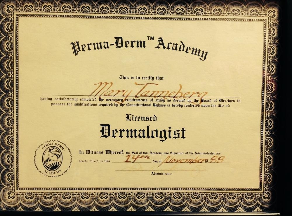 """Perma-Derm Academy"" 1988"