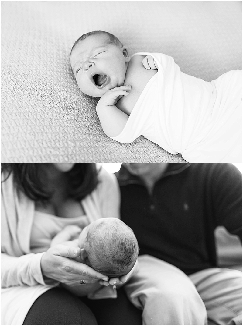 Northern VA Lifestyle Newborn Session