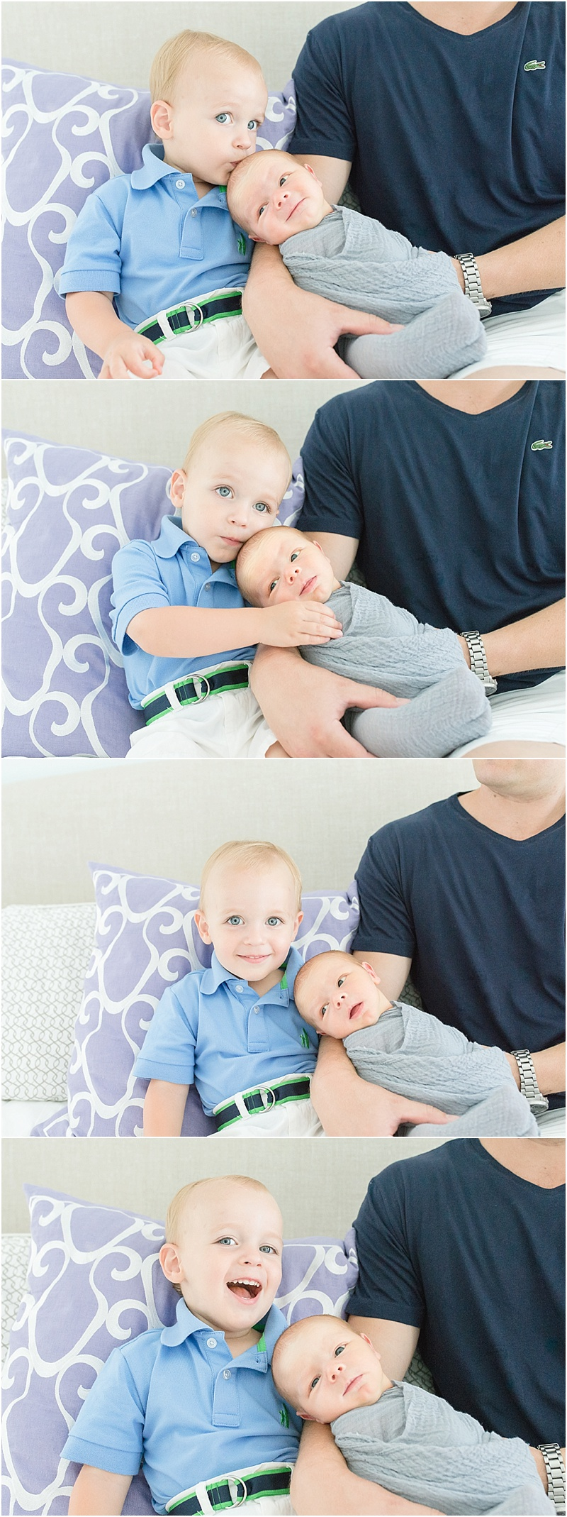 Lifestyle Newborn Session in Ashburn, VA | Kristin Cornely Photography