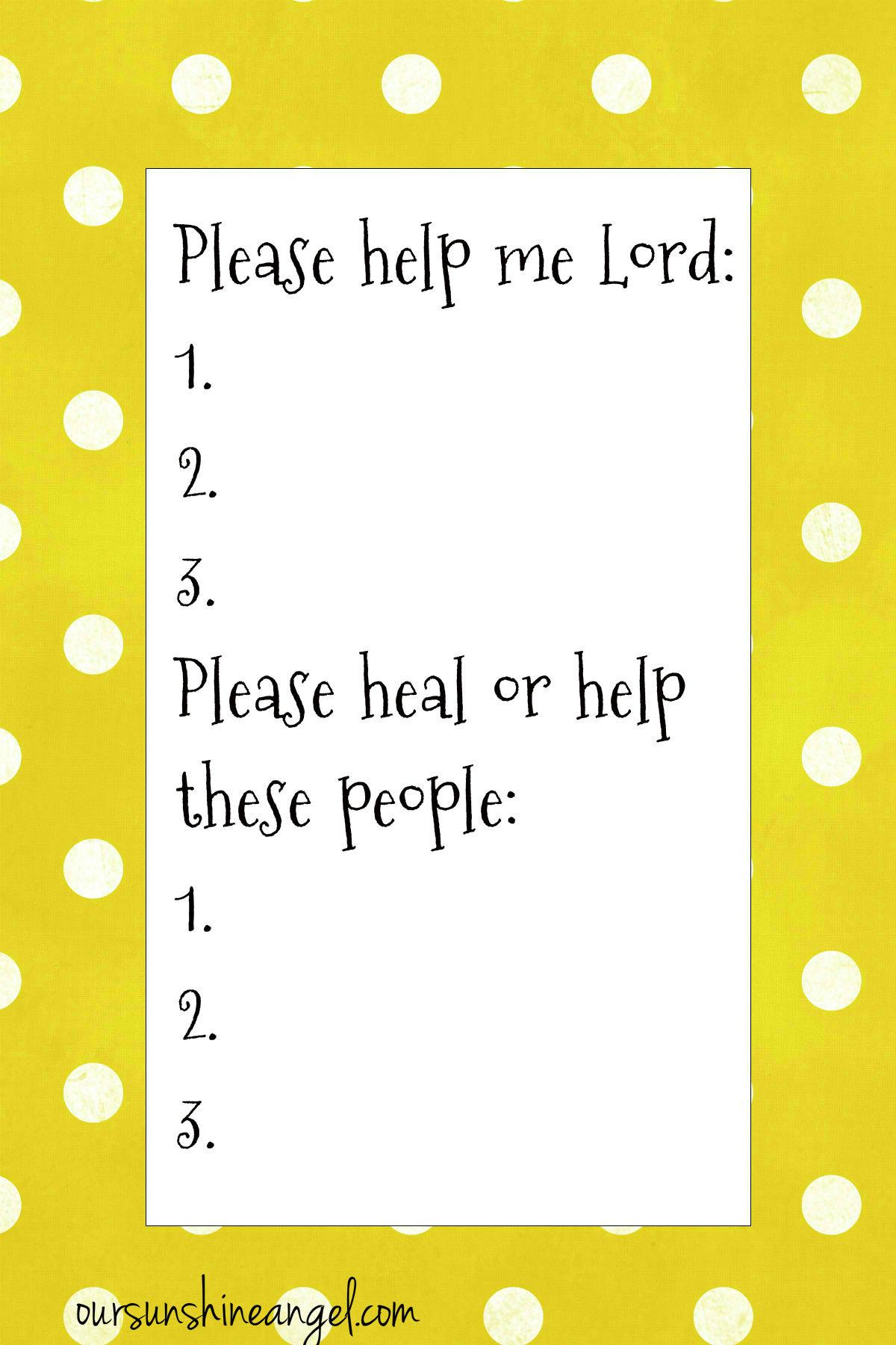 Help Me Card