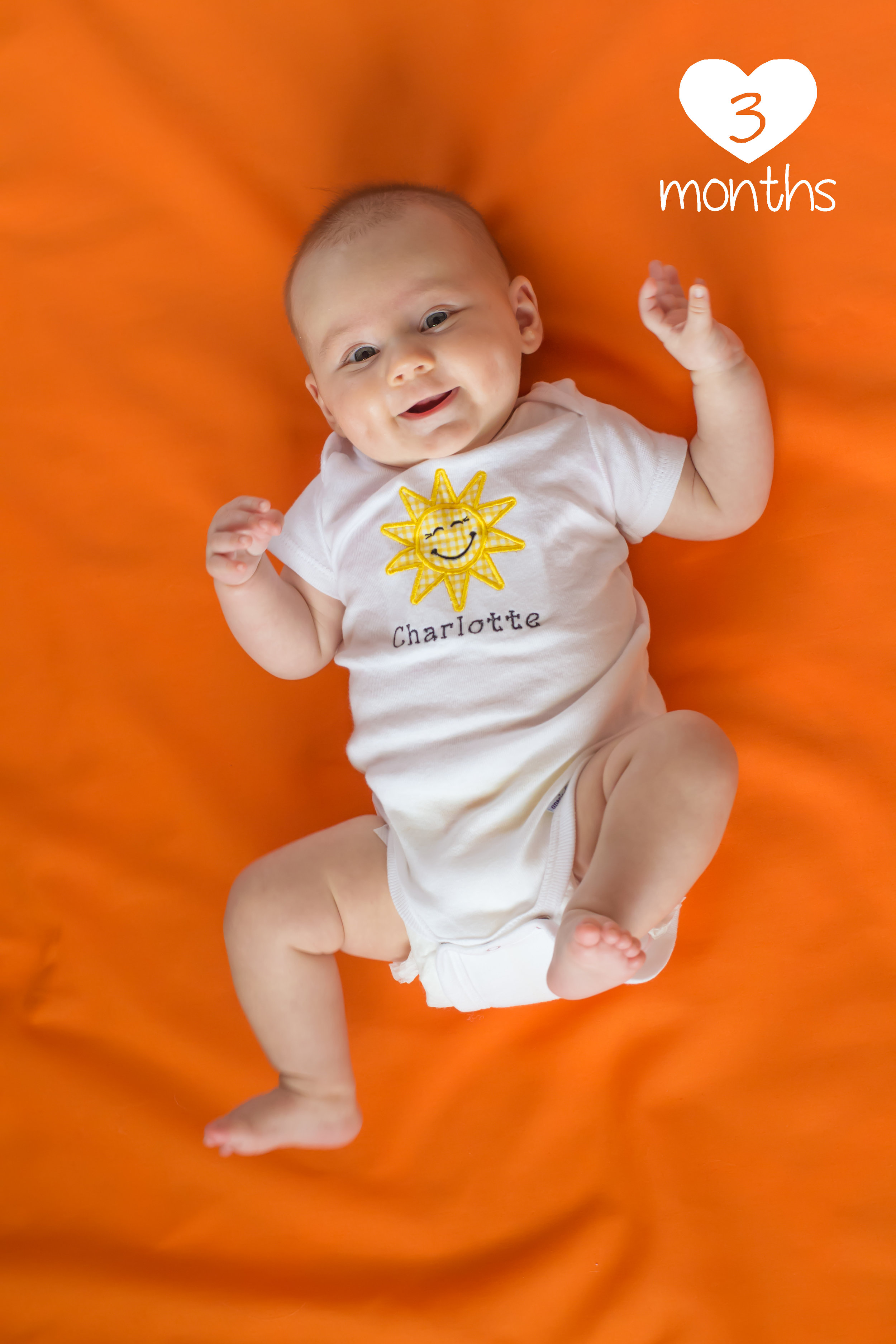 charlotte 3 month