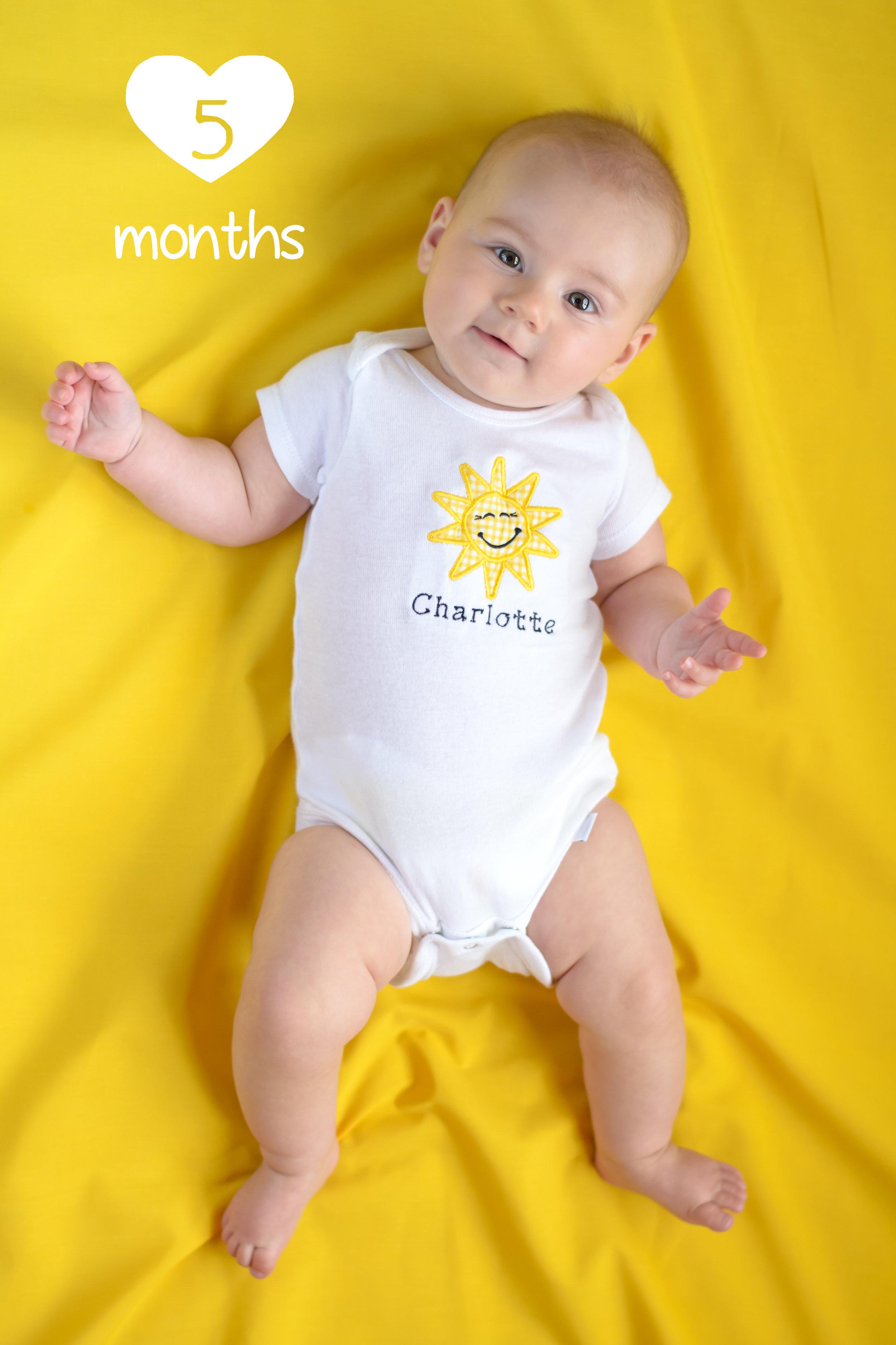 charlotte 5 months