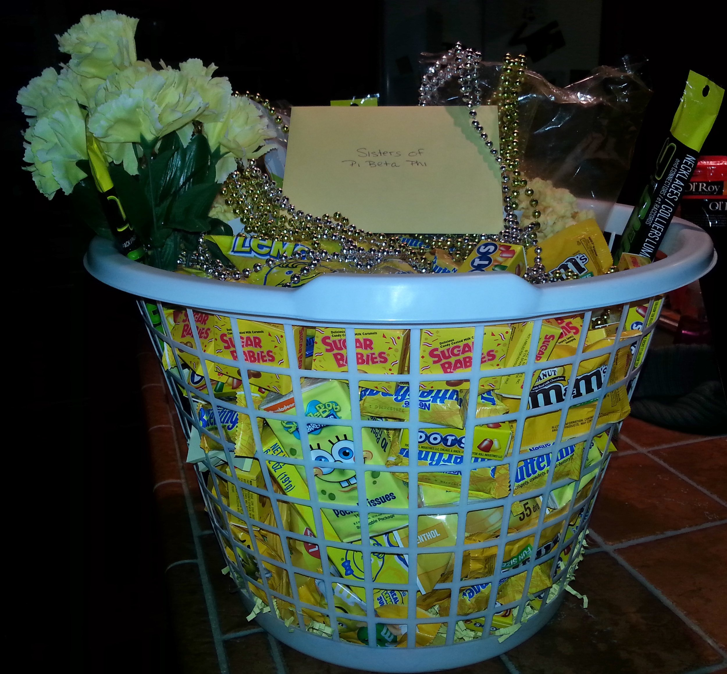 Basket of Sunshine for Sorority Recruitment