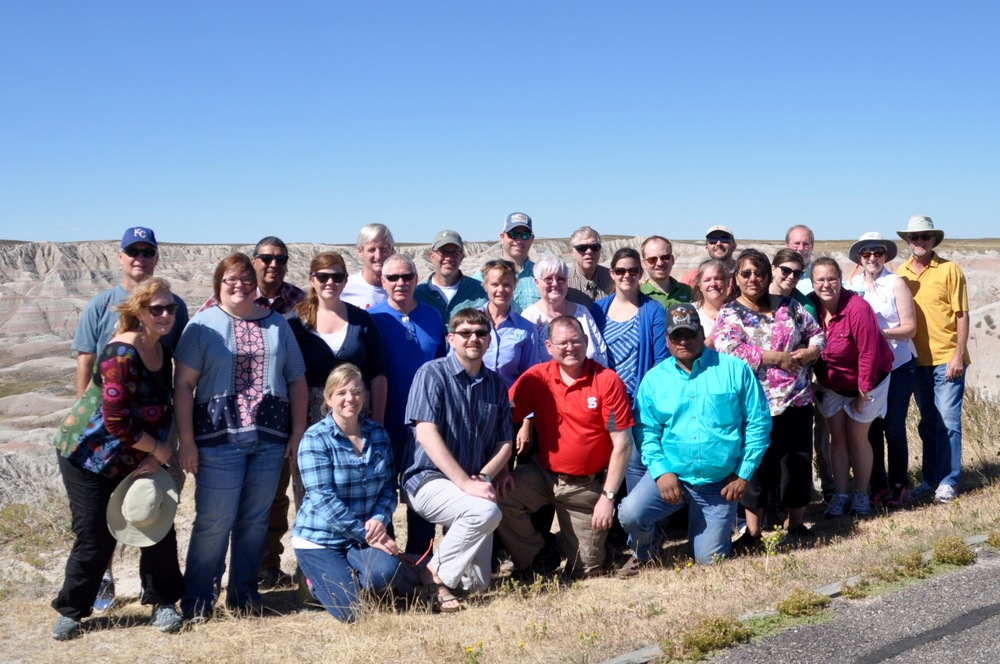 TFH field personnel, practitioners; CBF state/regional and global staff; and ministry partners were all in attendance at the  Together for Hope 2015 Council Meeting September 20-23   in South Dakota    Group picture taken at Badlands National Park courtesy of Stephen Reeves