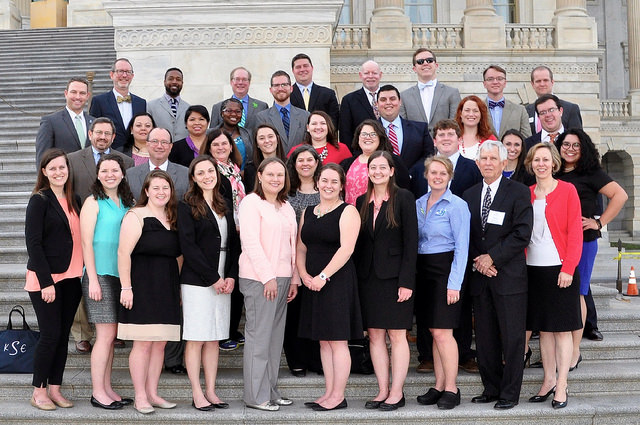 Advocacy in Action 2016 participants on Capitol Hill. For more photos from this event visit: https://flic.kr/s/aHskt6sgMF