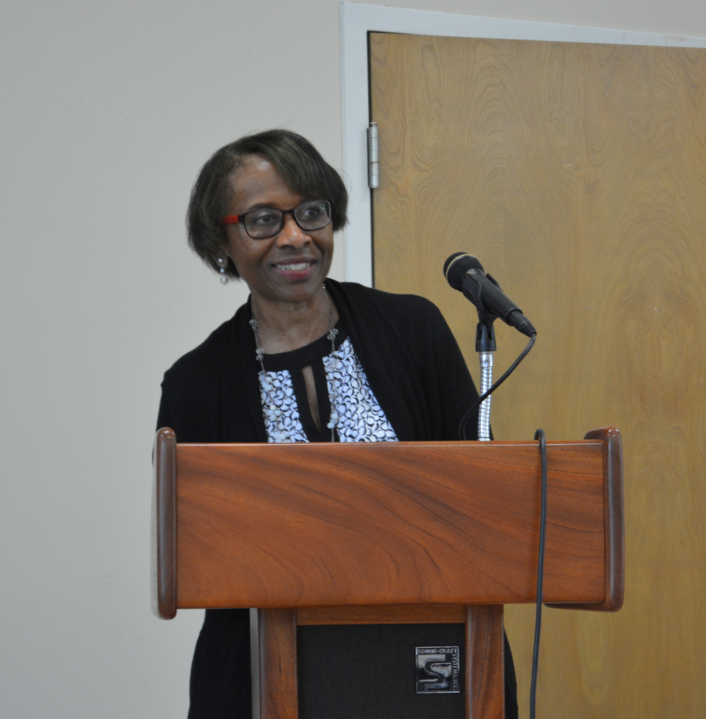 Dr. Pat Griffen, 2016-17 CBFAR Moderator