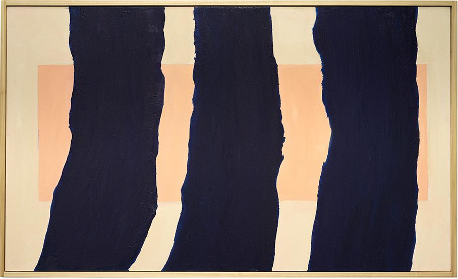 Mattea Perrotta Blue Velvet, 2015 Oil on canvas 38 x 62 inches