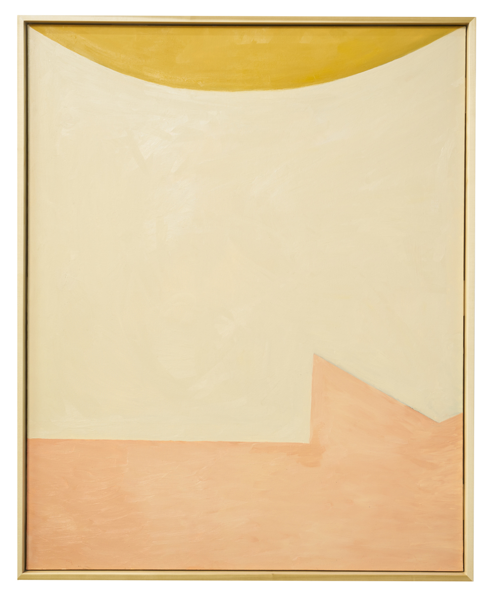 nude woman under the sun, 2015  oil on canvas  60 x 48 inches (152.4 x 121.9 cm)