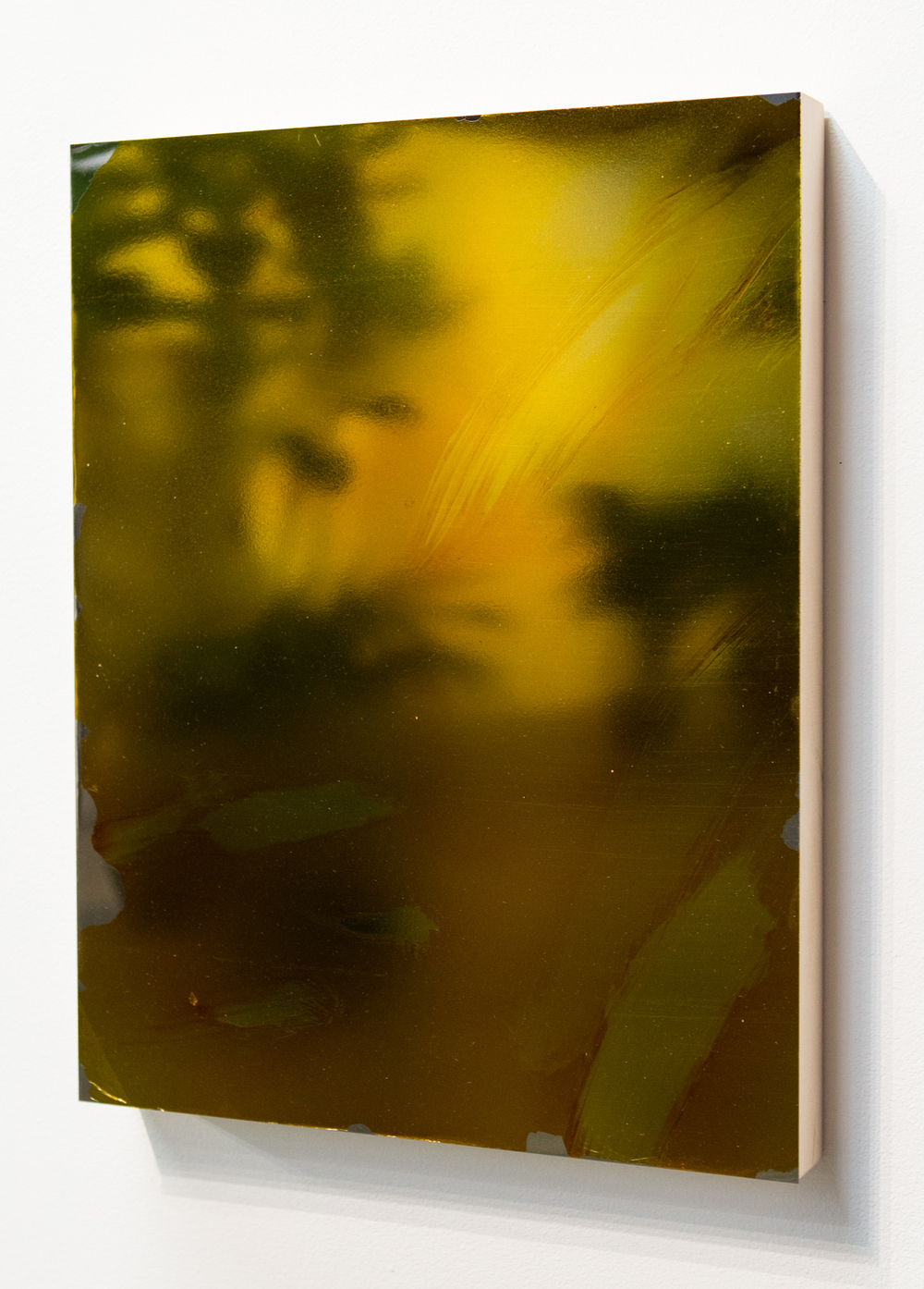 MLSL_13_Bunny, 2015  Gold tint on stainless steel  18 x 14 in (45.72 x 35.56 cm)