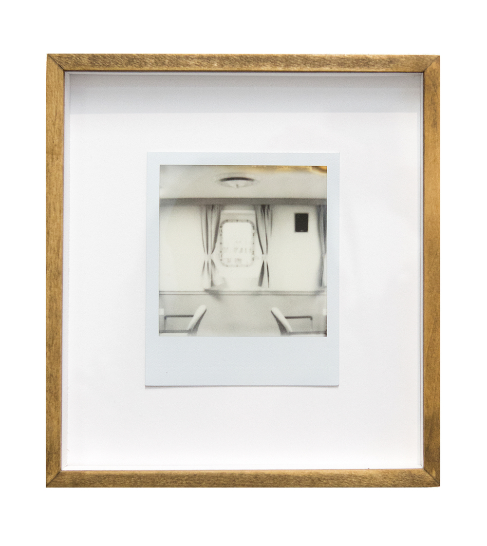 mess hall, 2015  black and white integral instant film for Polaroid  4.2 x 3.5 in (10.67 x 8.89 cm); Image 3.1 x 3.1 in (7.87 x 7.87 cm)