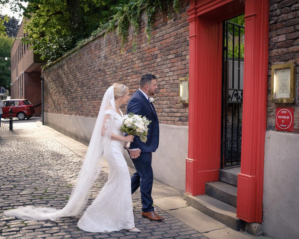 entering-wedding-reception-world-service-Restaurant