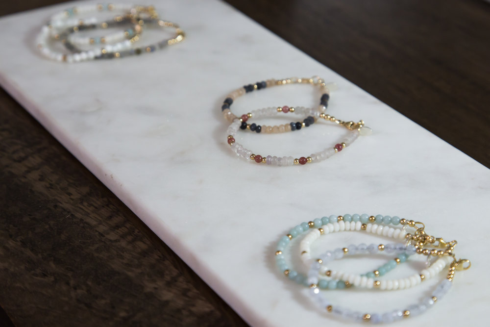 Each ViscoStack has a unique personality and occasion