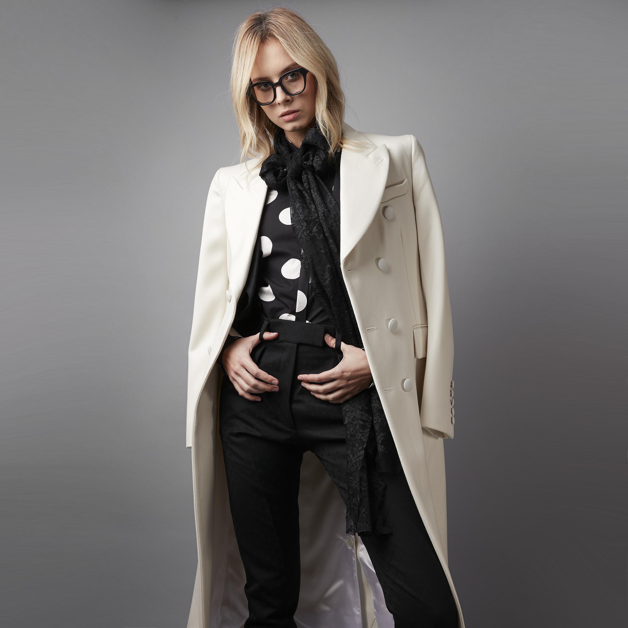 White dress coat -  The Fawcett White Imperial Dress Coat