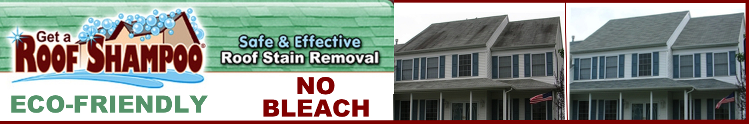 Roof Cleaning in Monmouth County, NJ