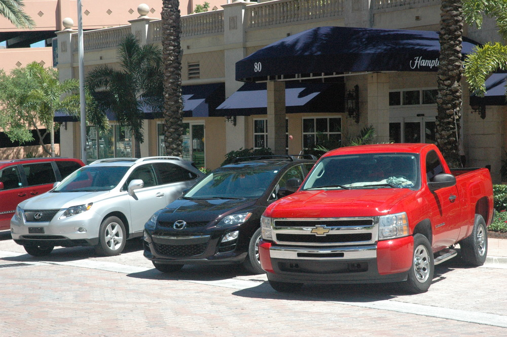 Valet parking a truck? Here's a suggestion: tell the valet you would like to keep it out front while flashing a $20. You'll have a lot less to worry about if they're not driving it in the garage.