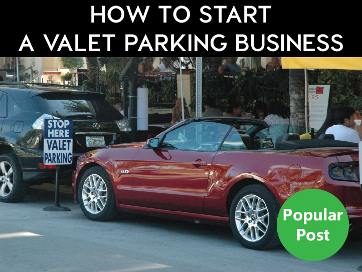 Starting a valet parking service... it's a very competitive landscape. You need to be different, and better.