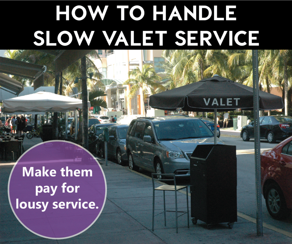What to do after a valet service loses your keys... — Real Valet Control
