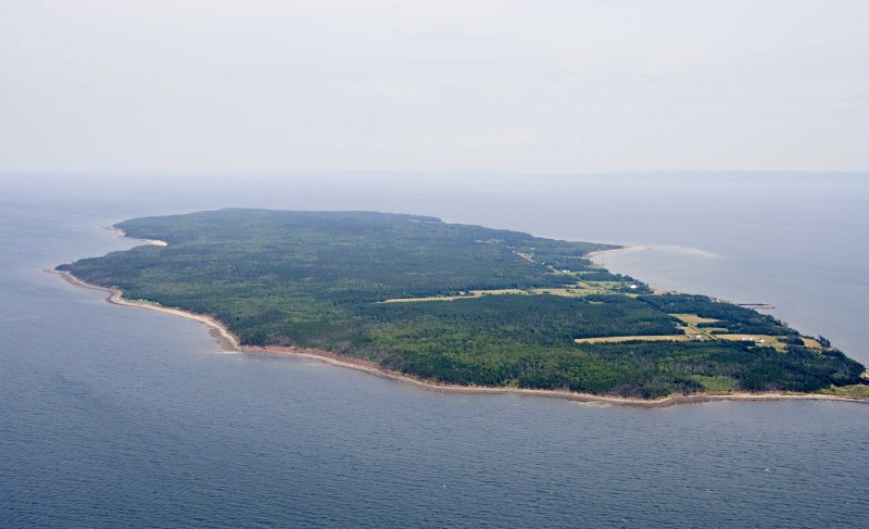 Pictou Island (source: Wikipedia)