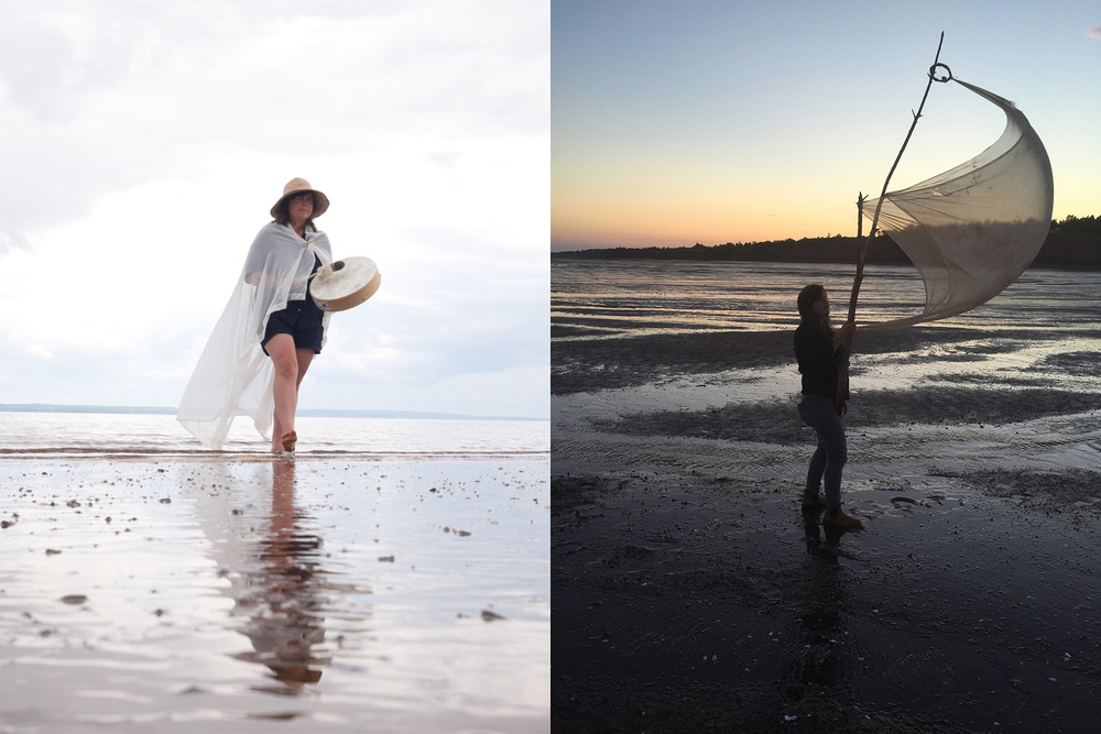 Drumming the Tide (2014) and Body Sail (2015)