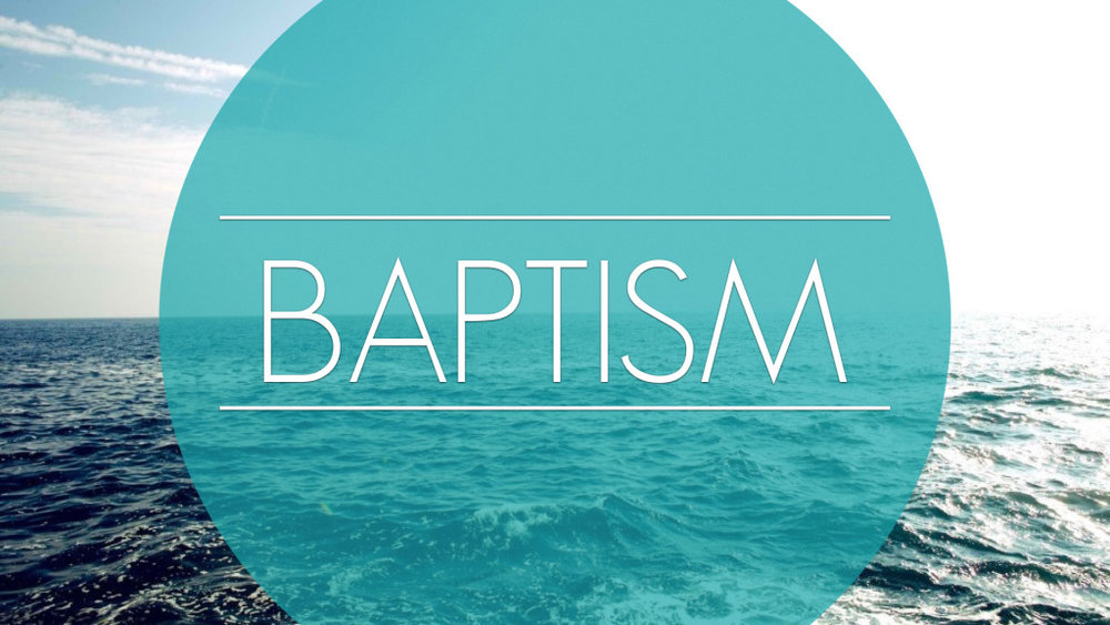 July 31st! Take your next step and sign up for our next baptism!