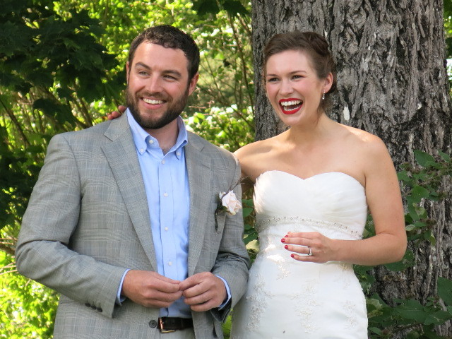 Host your outdoor wedding at The Cabot House