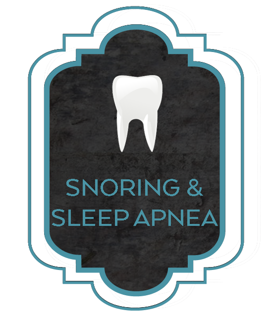 snoring and sleep apnea tooth graphic
