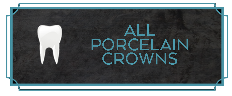 Procelain crowns protect and improve the health and appearance of teeth