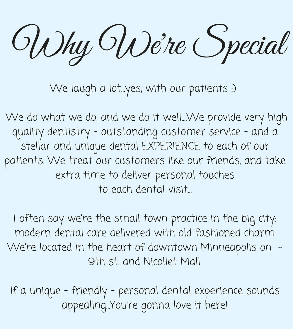 Why Ivory Dental is unique infographic