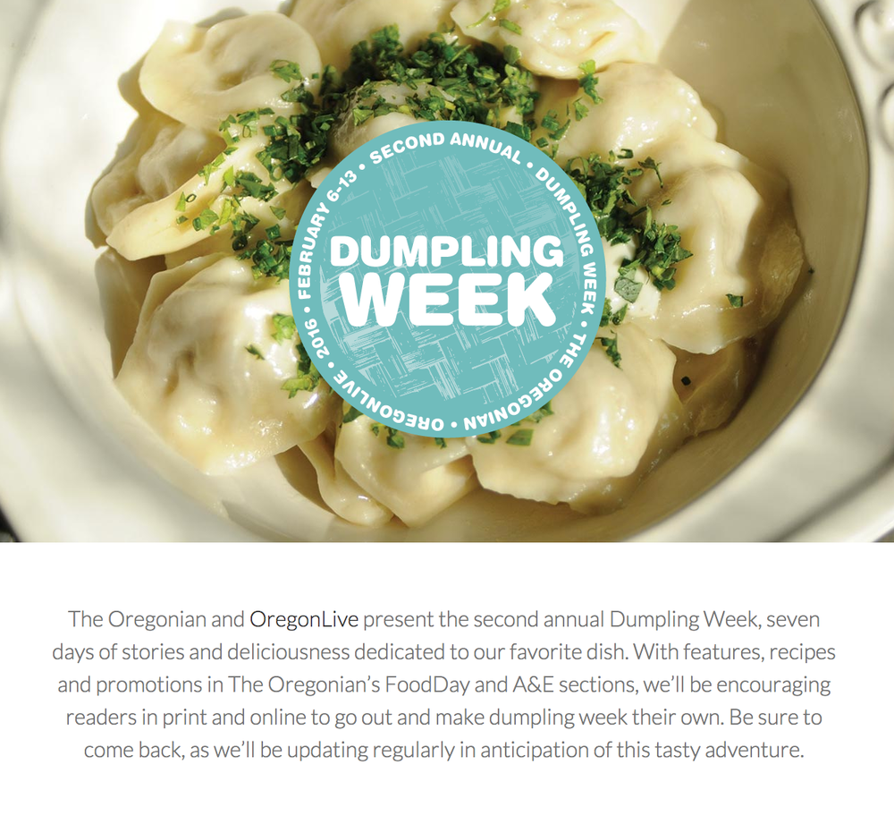 More information on Dumpling Week here