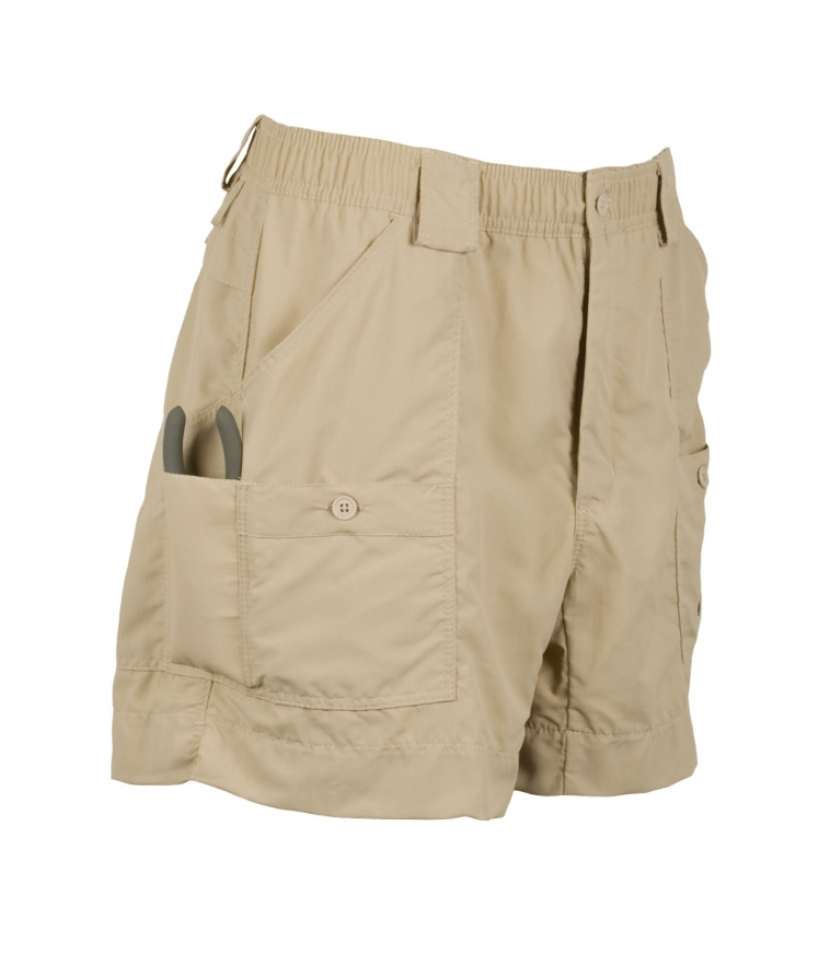 Aftco original fishing short khaki carriages fine for Aftco original fishing shorts