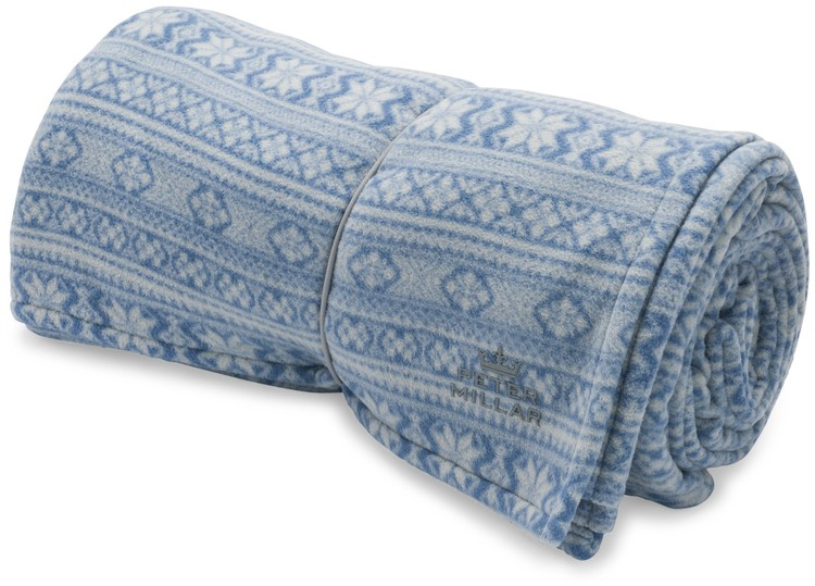 Peter Millar Lightweight Fleece Travel Blanket — Carriages Fine ...